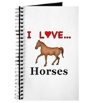I Love Horses Journal
