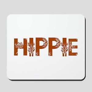 Vintage Hippie Mousepad