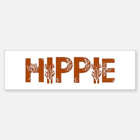 Vintage Hippie Bumper Bumper Bumper Sticker