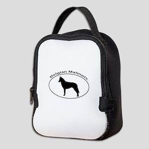 BELGIAN MALINOIS Neoprene Lunch Bag