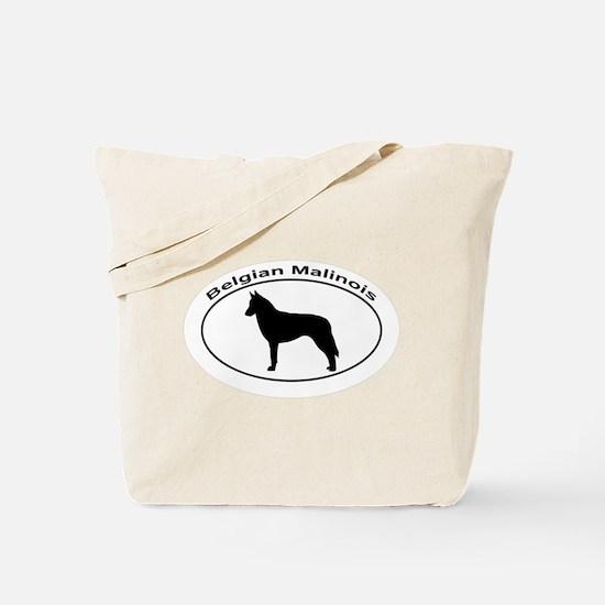 BELGIAN MALINOIS Tote Bag