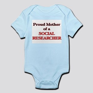 Proud Mother of a Social Researcher Body Suit
