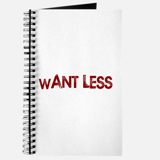 Want Less Journal