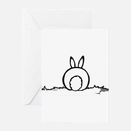 Cute Bunny ears Greeting Card