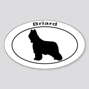 BRIARD Sticker (Oval)