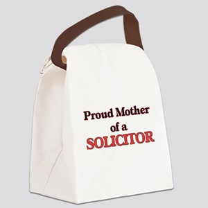 Proud Mother of a Solicitor Canvas Lunch Bag