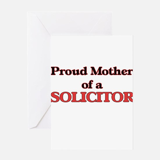 Proud Mother of a Solicitor Greeting Cards