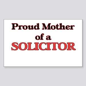 Proud Mother of a Solicitor Sticker