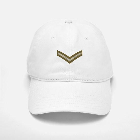 Lance Corporal<BR> White Baseball Baseball Cap