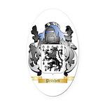 Pritchett Oval Car Magnet