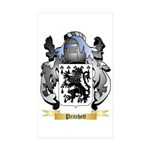 Pritchett Sticker (Rectangle 50 pk)