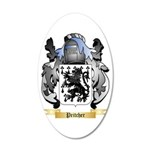 Pritcher 20x12 Oval Wall Decal