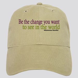 Gandhi Quote Cap