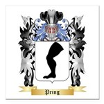 Pring Square Car Magnet 3