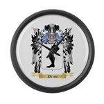 Prime Large Wall Clock