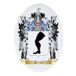 Prime Oval Ornament