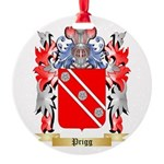 Prigg Round Ornament