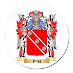 Prigg Round Car Magnet