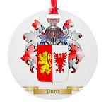 Prieto Round Ornament