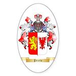 Prieto Sticker (Oval 10 pk)
