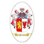 Prieto Sticker (Oval 50 pk)