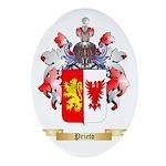 Prieto Oval Ornament
