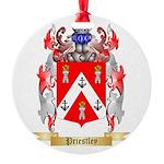 Priestley Round Ornament