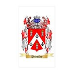 Priestley Sticker (Rectangle 50 pk)