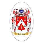 Priestley Sticker (Oval 50 pk)