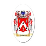 Priestley 35x21 Oval Wall Decal