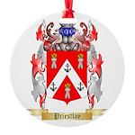 Priestlay Round Ornament