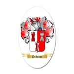 Prideaux 20x12 Oval Wall Decal