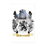 Prickard Sticker (Rectangle 50 pk)