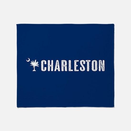 Charleston, South Carolina Throw Blanket