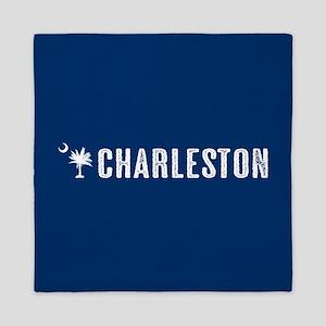 Charleston, South Carolina Queen Duvet