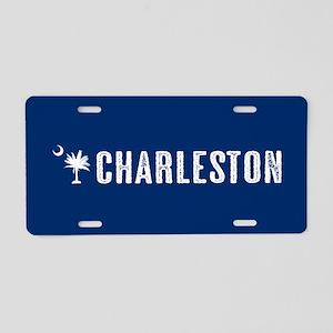Charleston, South Carolina Aluminum License Plate