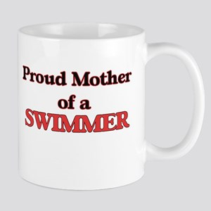 Proud Mother of a Swimmer Mugs