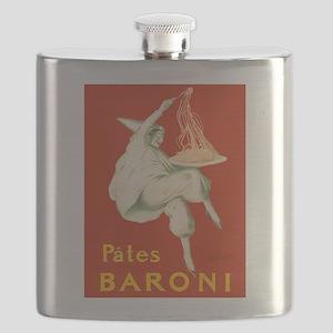 Vintage poster - Pates Baroni Flask