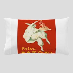 Vintage poster - Pates Baroni Pillow Case