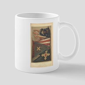 Mary A. Livermore Flag Plate I Mug