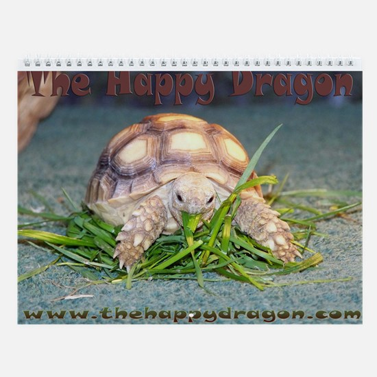 The Happy Dragon Reptile Wall Calendar