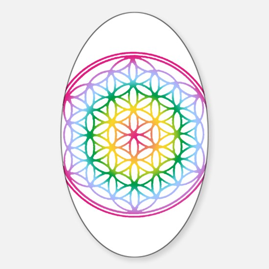 Flower of Life Rectangle Decal