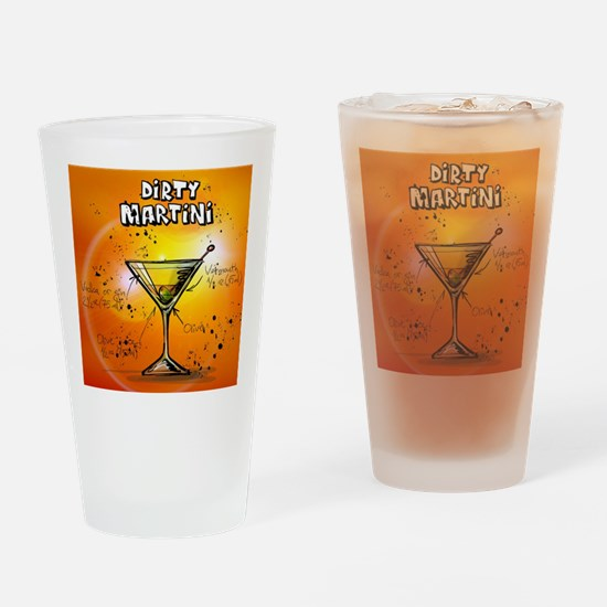 Unique Dirty martini Drinking Glass
