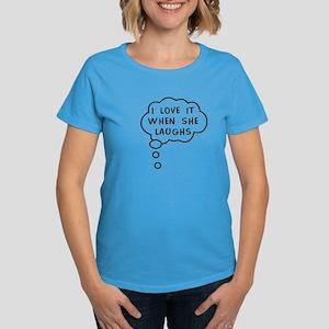 Mommy's Laugh Women's Dark T-Shirt