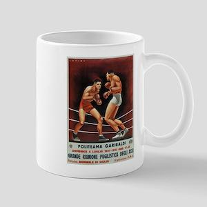 Vintage poster - Boxing Mugs