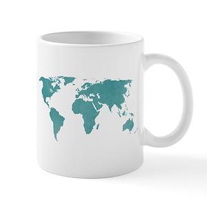 World Map Mugs Cafepress