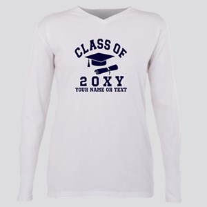 Class of 20?? Plus Size Long Sleeve Tee