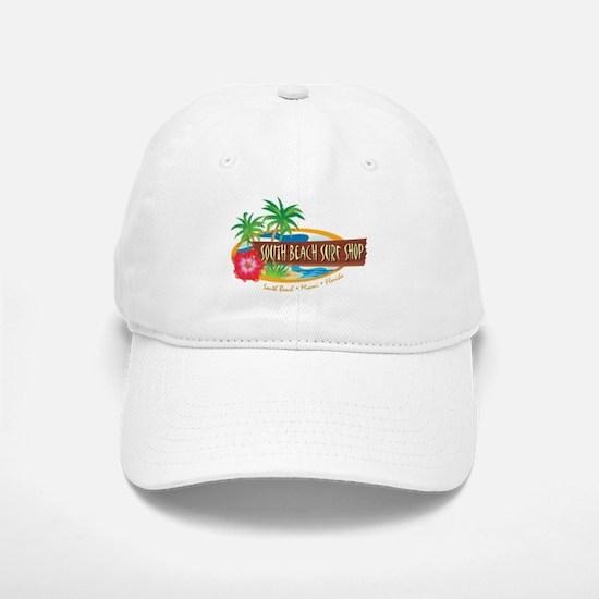 South Beach Surf Shop - Baseball Baseball Cap