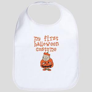 Baby's First Halloween Costume Baby Bib