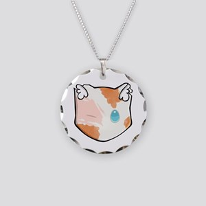 Chibi Brightheart Necklace Circle Charm